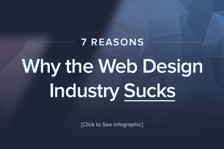 7 Reasons Why the Web Design Industry Sucks Infographic