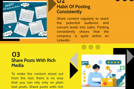 05 Best LinkedIn Marketing Strategy To Grow Business Infographic