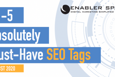 #1 - 5 Absolutely Must-Have SEO Tags Infographic