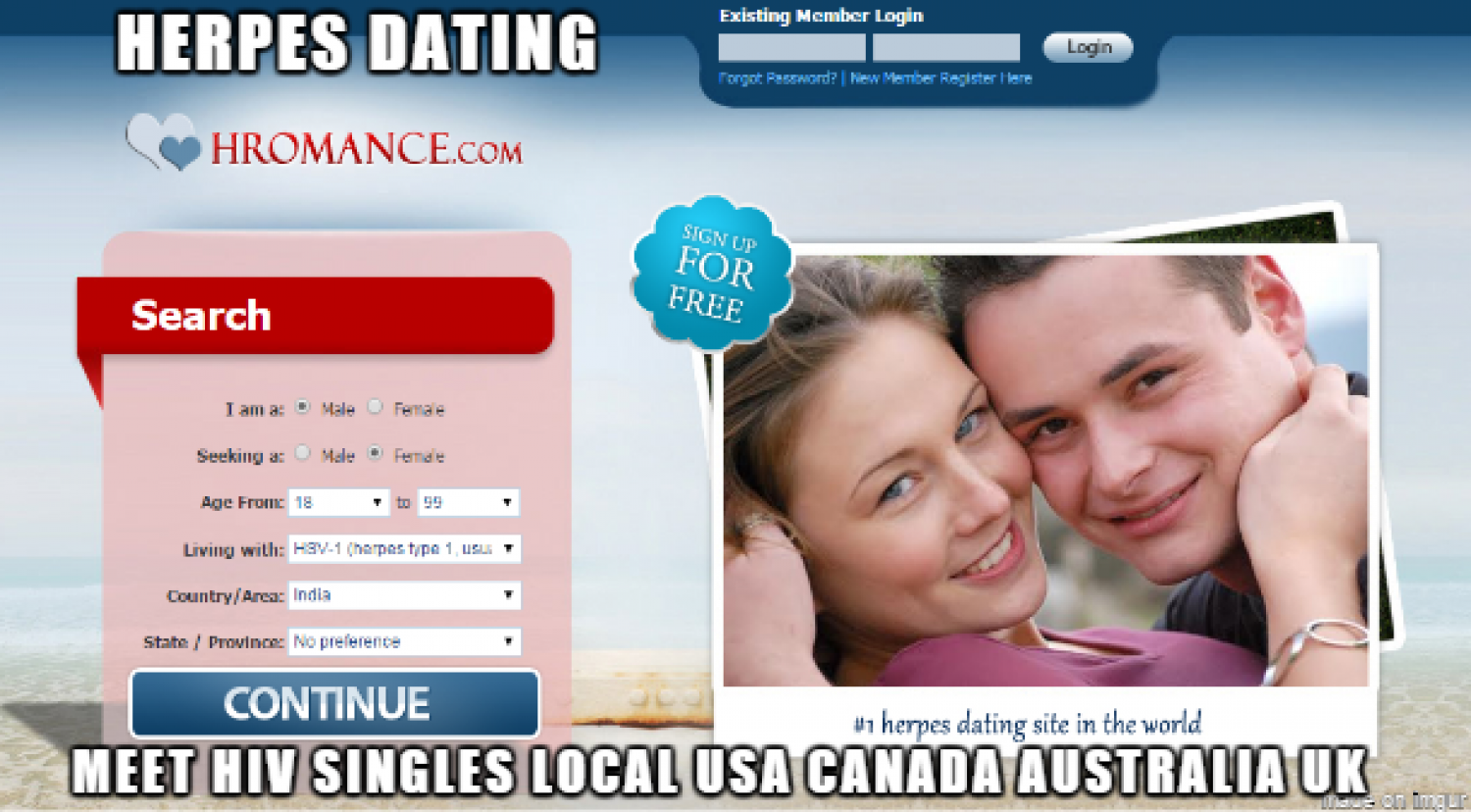 Internet dating commercials