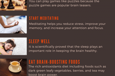 10 BEST WAYS TO EXERCISE YOUR BRAIN  Infographic