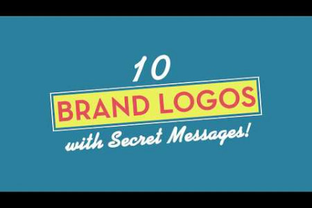 10 Brand Logos With Secret Messages! Infographic