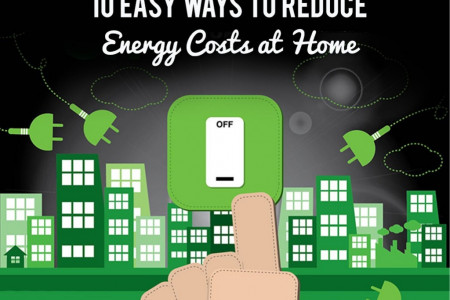 10 Easy Ways to Reduce Energy Costs at Home Infographic