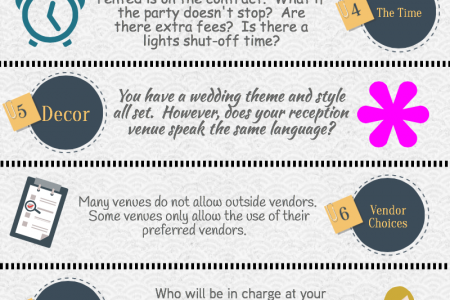 10 Facts About Booking Wedding Venues Infographic