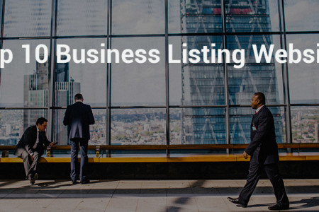 10 Free Business Listing Websites Infographic