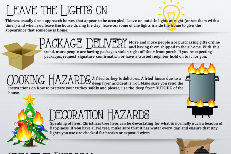 10 Holiday Tips to Protect Your Home!  Infographic