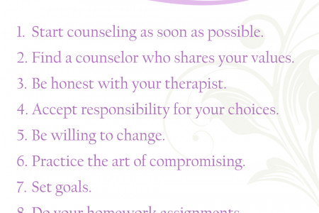 10 Marriage Counseling Tips Infographic