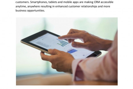 10 Mobile CRM Stats You Don't Want To Miss Infographic