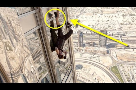 10 Most Dangerous Stunts Of All Time Infographic