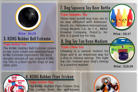 10 Most Useful toy for dog  Infographic
