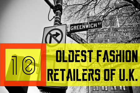 10 Oldest Fashion Retailers of U.K. Infographic