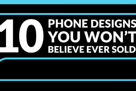 10 Phone Designs You Won't Believe Ever Sold! Infographic