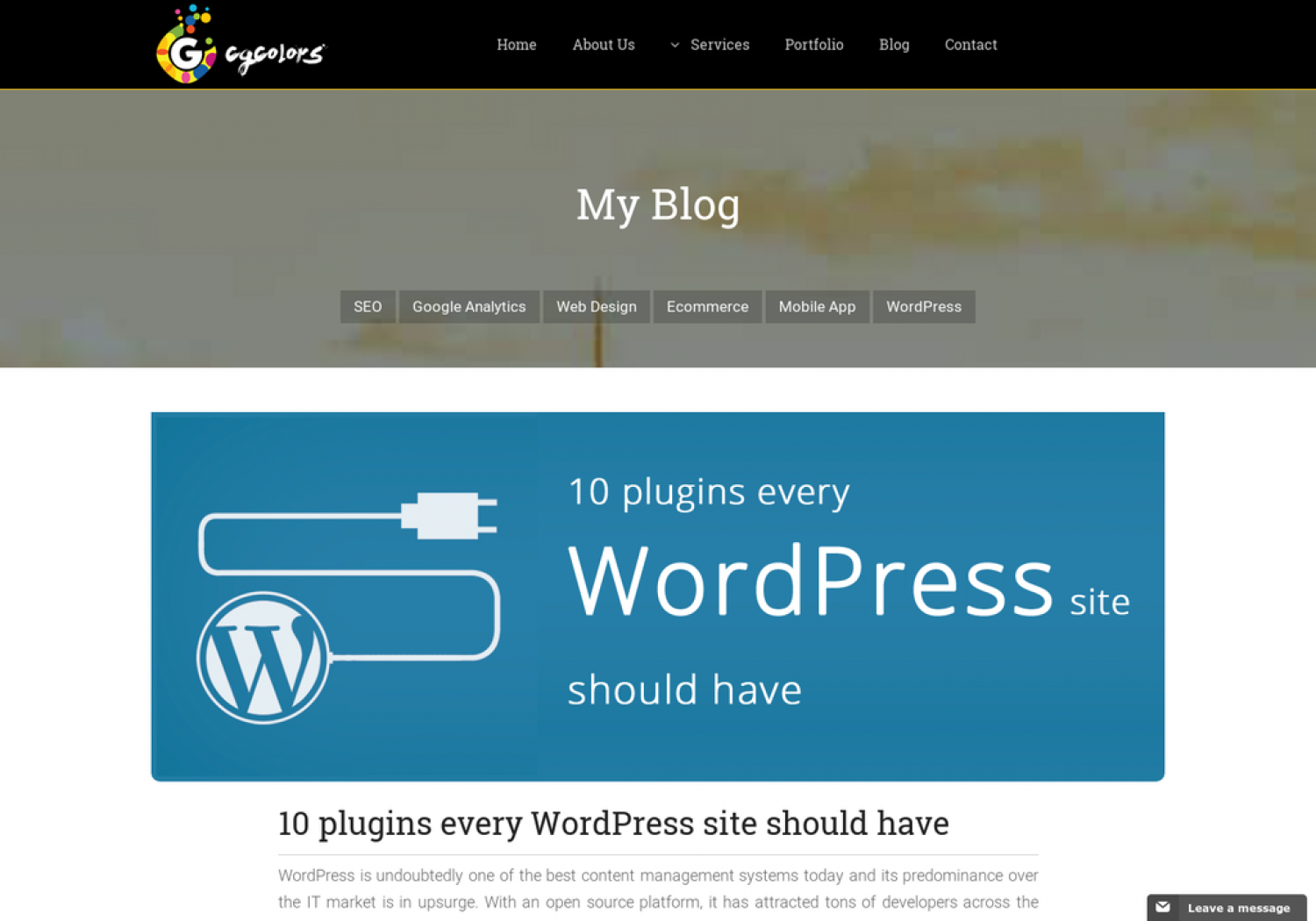 10 plugins every WordPress site should have Infographic