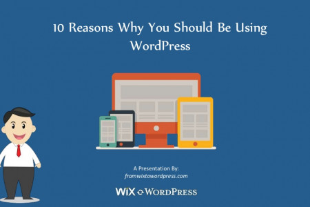 10 Reasons Why You Should Be Using WordPress Infographic