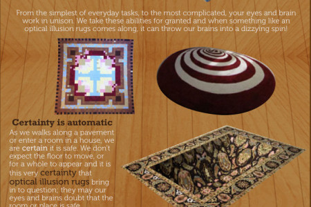 10 rugs that will truly mess with your friends heads Infographic