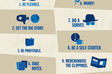 10 Rules for PR Pros Infographic