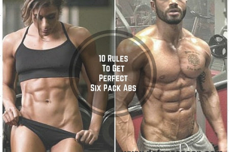 10 rules-to-get-perfect-six-pack-abs Infographic