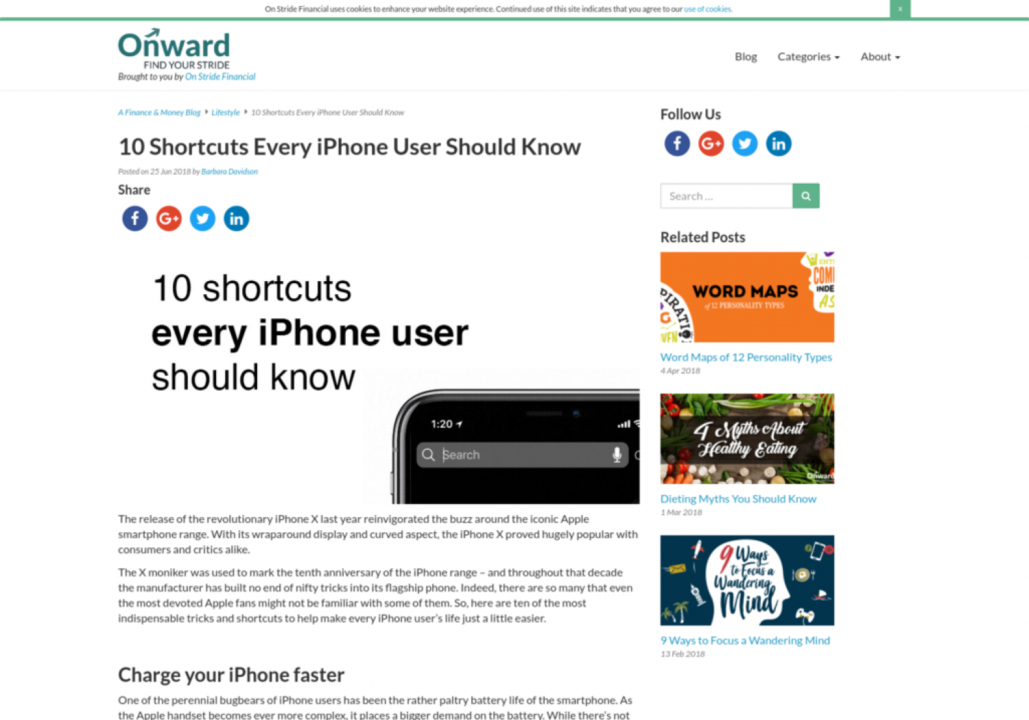 10 Shortcuts Every iPhone User Should Know Infographic