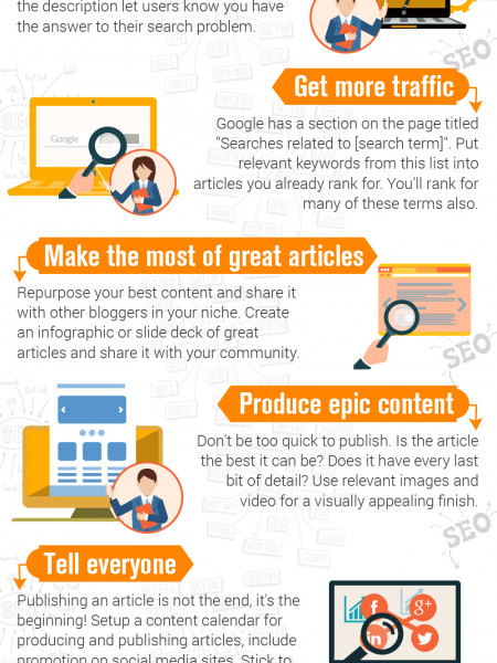 10 Simple Tips for More Website Traffic Infographic