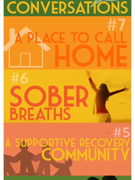 10 Things I'm Thankful for in Recovery Infographic