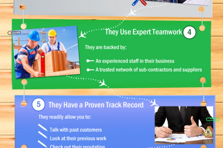 10 Things that Define a True Service Provider Infographic