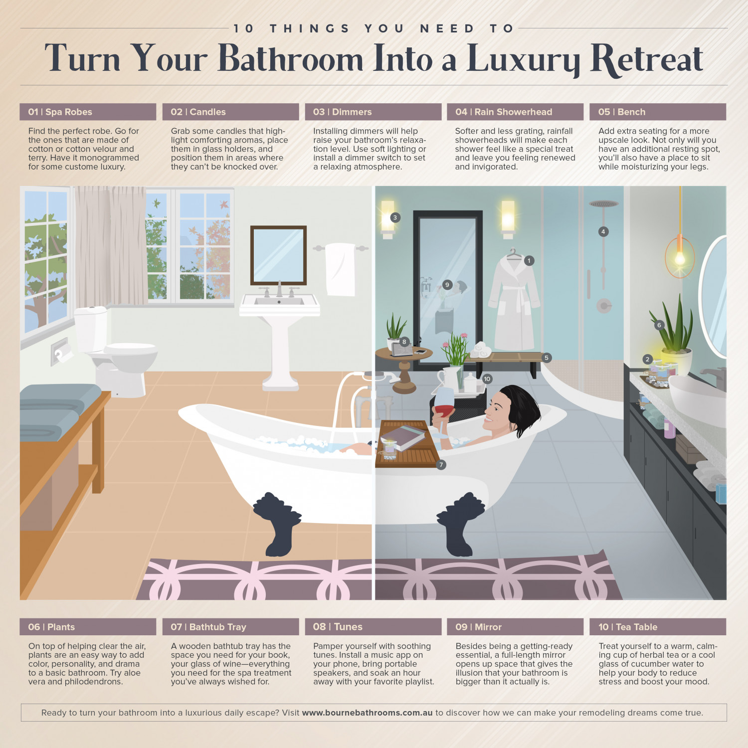 10 Things You Need To Turn Your Bathroom Into A Luxury Retreat