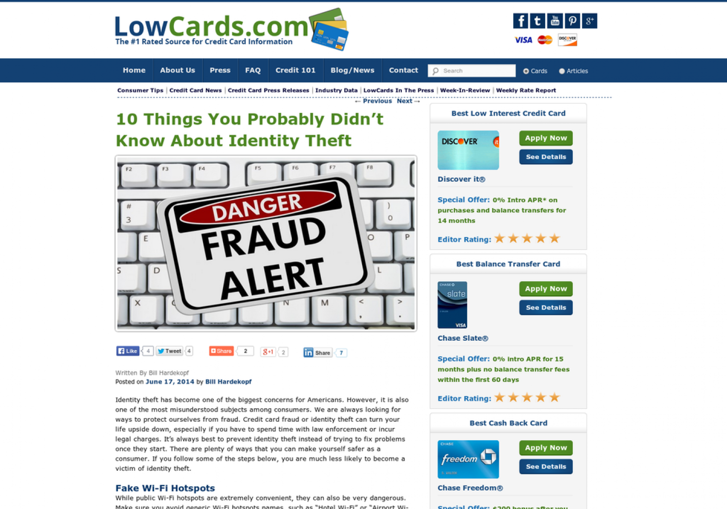 10 Things You Probably Didn't Know About Identity Theft Infographic
