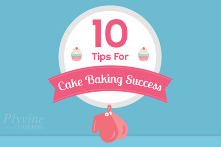 10 Tips for Cake Baking Success Infographic