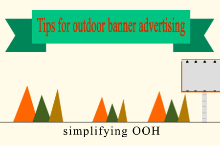 10 TIPS FOR OUTDOOR BANNER ADVERTISING Infographic