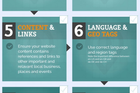 10 Tips To Improve Your Local SEO Infographic