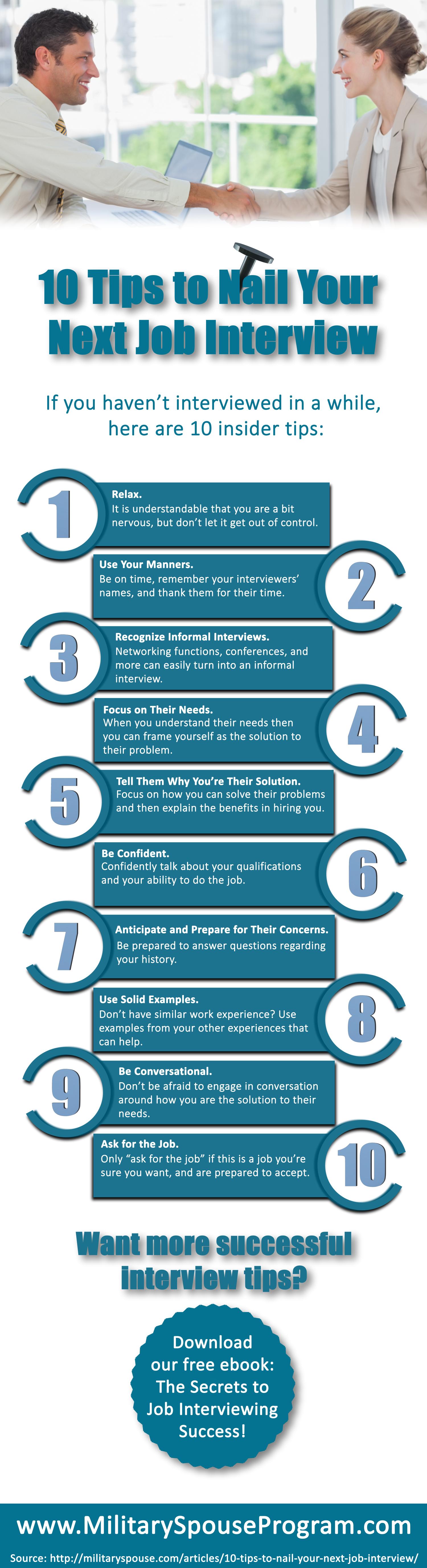 tips to nail your next job interview ly