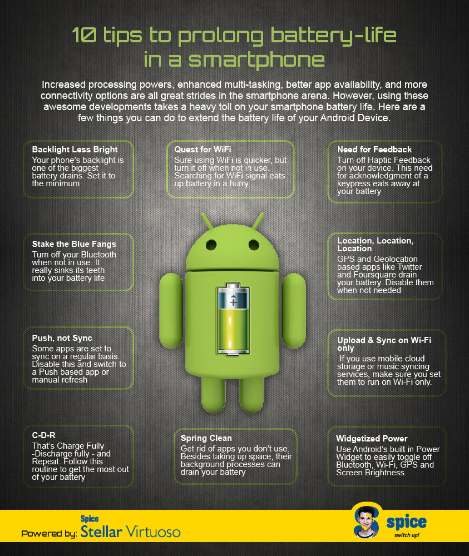 Tips Extending Android Battery Life Tips To Prolong The Battery Life On Your