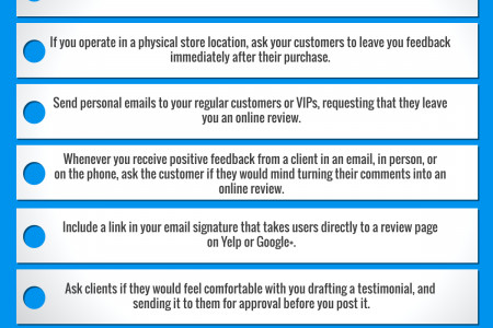 10 Ways To Grow Your Reviews Infographic