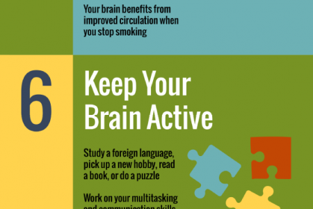10 Ways to Help Prevent Alzheimer's Disease Infographic