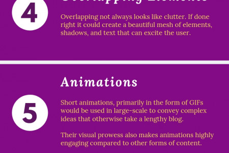 10 Web Design Trends That Will Shape The Way We See & Experience The Web Infographic