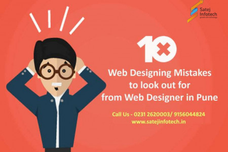 10 Web Designing Mistakes to Look out for-  from Web Designer in Pune  Infographic