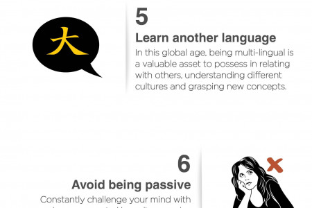 10 Winning Ways to Look, Feel and Be Smarter Infographic