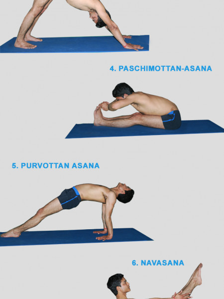 10 Yoga Poses for Travelers Infographic