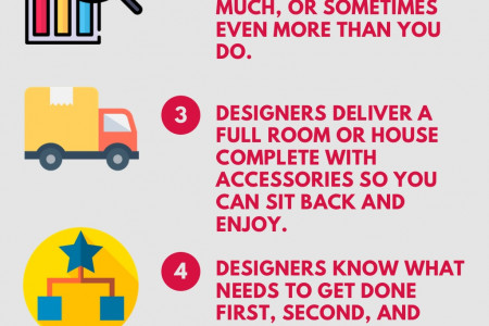 101 reasons to hire an interior designer Infographic