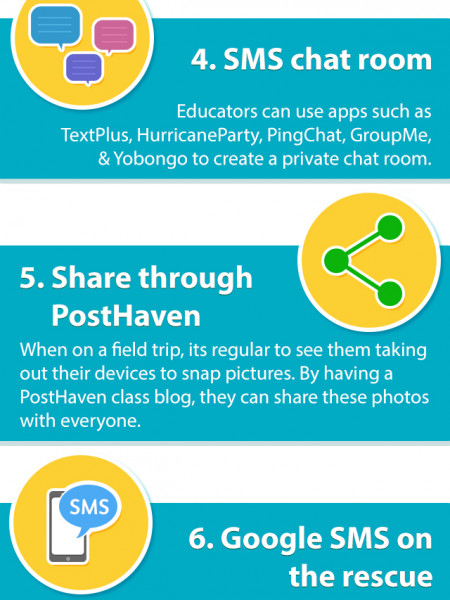 10 Exciting Ways to Use Mobile Phones Inside the Classroom Infographic