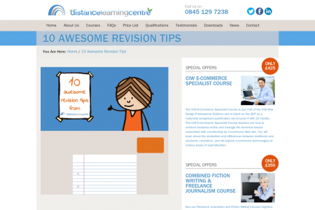 10 Interactive Revision Tips [infographic] Infographic