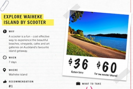 10 (Non-Touristy) Things To Do In Auckland Infographic