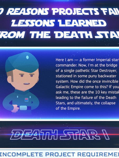 10 Reasons the Death Star Project Failed Infographic