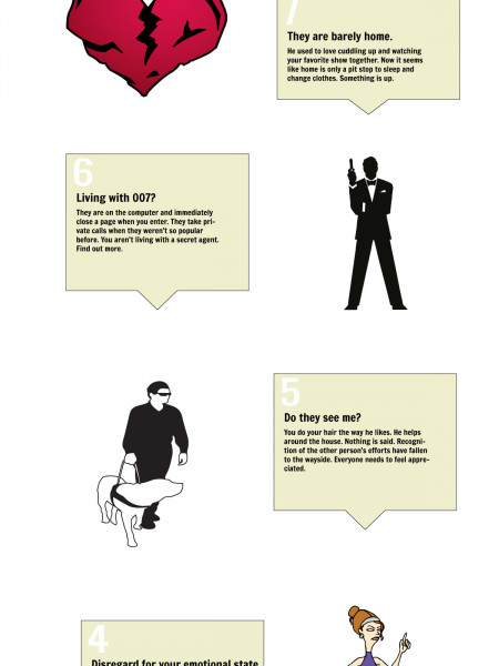 10 Red Flags of a Rocky Relationship Infographic