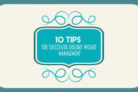 10 Tips for Successful Holiday Weight Management Infographic