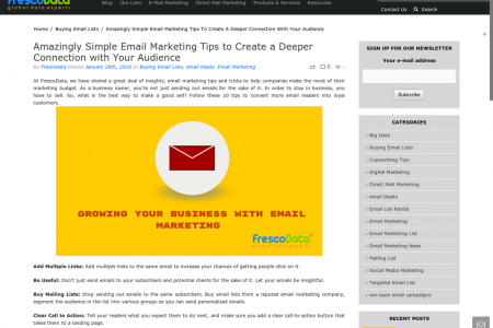 10 tips to convert email readers into loyal customers Infographic