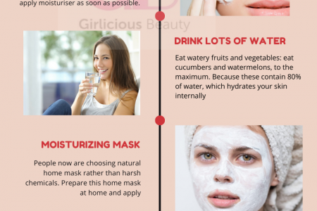 11 Effective Skin Care Tips For Winter Season Infographic