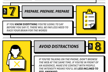 11 Killer Tips to Stop Saying 'Um' Forever Infographic