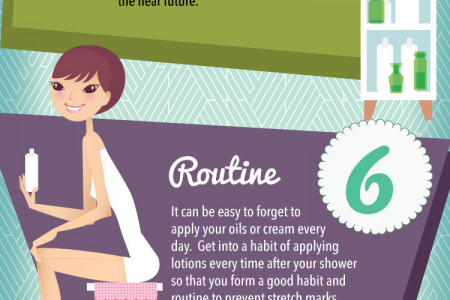 11 Things You Can Do To Prevent Stretch Marks Infographic
