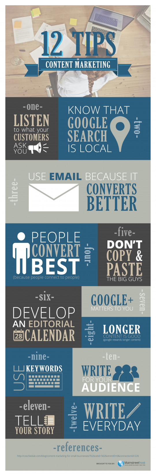 12 Content Marketing Tips for Small Businesses